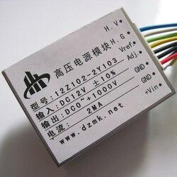 DC 12V input One thousand volt 0-1KV 0-1000V output 2mA DC high voltage power module 12Z102-2Y103