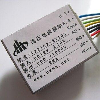 цена на DC 12V input One thousand volt 0-1KV 0-1000V output 2mA DC high voltage power module 12Z102-2Y103