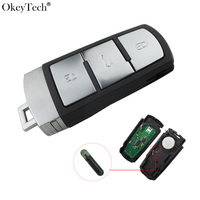 Okeytech 3 Buttons Remote Key 3C0 959 752 BA For VW Magotan Passat CC 2005 2006