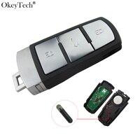 Okeytech 3 Buttons Từ Xa Chính 3C0 959 752 BA Cho VW Magotan Passat CC 2005 2006 2007 2008 2009 2010 433 Mhzc Với Chip ID48