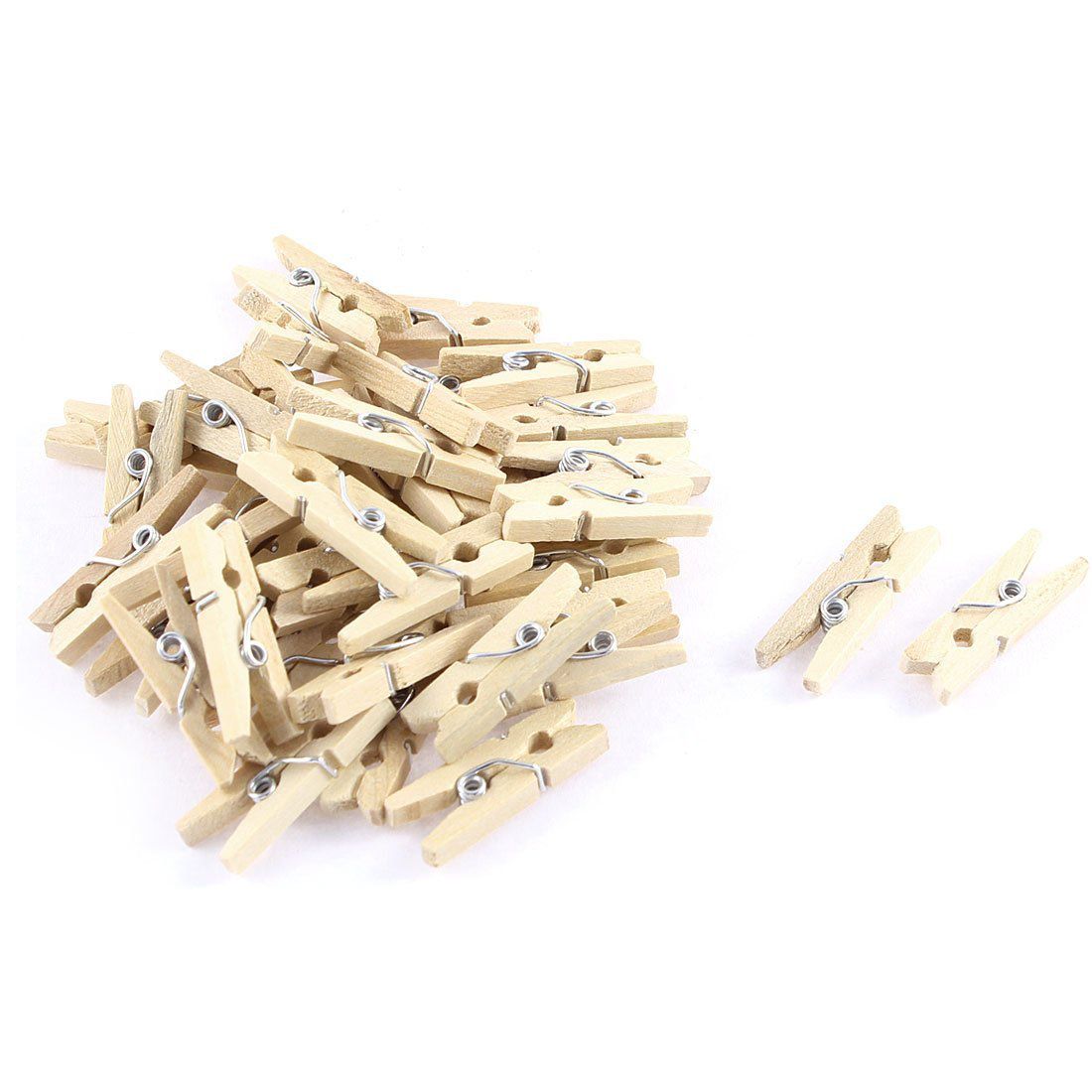 20x Wooden Animal Pegs Clothes Photo Paper Pin Clothespins Wood Decoration Clips