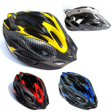 Catazer Bicycle Adult Mens Bike Helmets Red Blue Yellow Carbon Colour Cycling Motorcycle Sport Helmet Retail Free Shipping