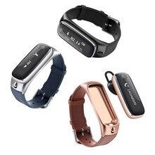 M6 Смарт Браслет браслет/Bluetooth гарнитура Сообщение Вызова напоминание Сна monitor Спортивные данные Tracker калорий Wristphone Часы