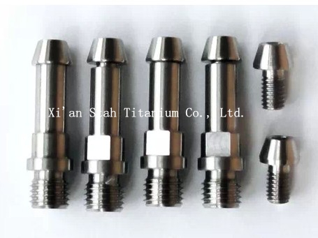 ФОТО Titanium TC4 V Brake Boss / Stud M8 x 1.25mm / M10 x 1.25mm*4pcs + Titanium Conical Head Fixing Bolts*4pcs + Cable Bolts*2pcs