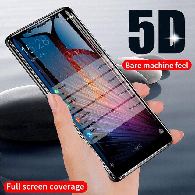 ZNP 5D Screen Protector Tempered Glass For Xiaomi Redmi Note 7 5 Pro Redmi 4X 7A 7 6 Protective Glass For Redmi 5 Plus k20 Film