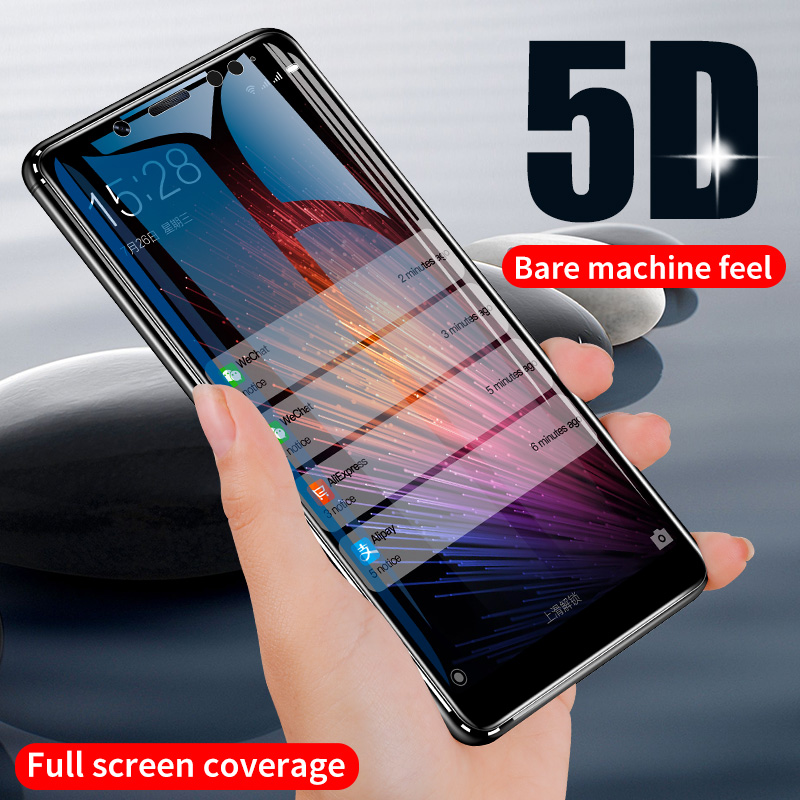 ZNP 5D Screen Protector Tempered Glass For <font><b>Xiaomi</b></font> <font><b>Redmi</b></font> Note 7 5 8 Pro <font><b>Redmi</b></font> 4X 7A 7 Protective Glass For <font><b>Redmi</b></font> 5 Plus k20 Film image