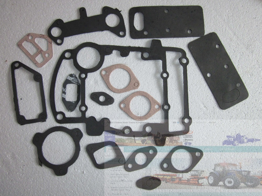 Laidong KAMA series engine KM4L22T & KM4L22BT, theengine gaskets with cylinder head gasket laidong km4l23bt for tractor like luzhong series set of piston groups with gaskets kit including the cylinder head gasket