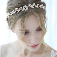 Serment Original Design Handmade European and American Style Crystal Bride Wedding Headdress Crystal Hair Accessories