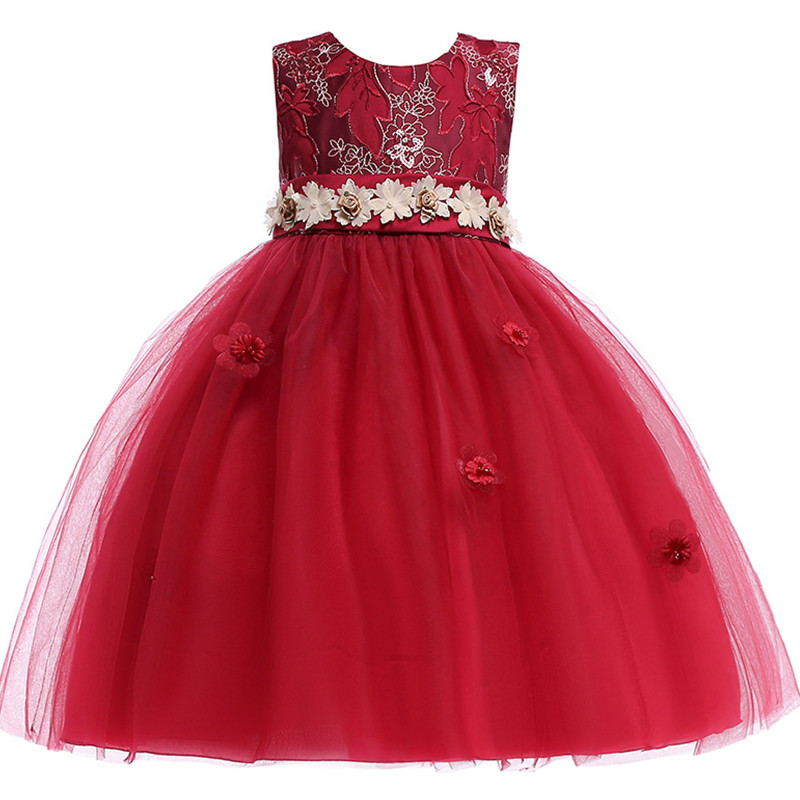 product information product name childrens christmas dresses for girls wedding party baby girl princess birthday dress material cotton polyester