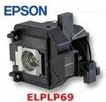 Epson elplp69 lâmpada do projetor de substituição original