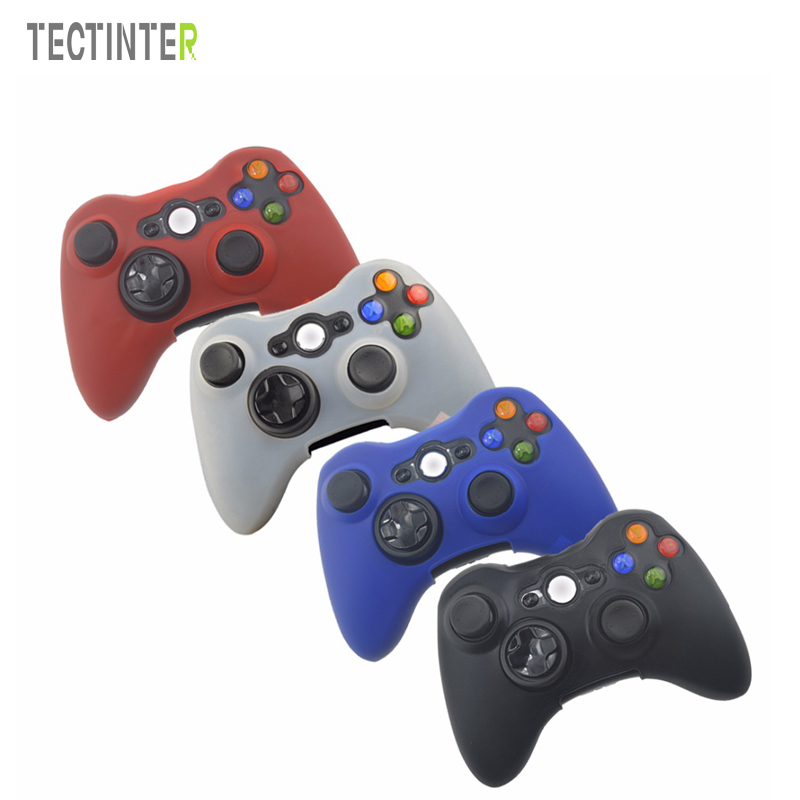 Soft Silicone Protective Skin Case Cover For Xbox 360 Controller Rubber Protector Shell Case For Xbox360 Gamepad