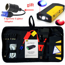 High Capacity Starting Device 600A 12V Portable Car Jump Starter Power Bank Car Charger For Car Battery Diesel Petrol Booster CE