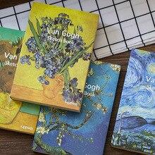 Creative Stationery Vintage Notebook Sketchbook Planner A5 Blank Sketch Book Diary Journal Agenda Filofax Office School Supplies