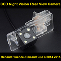 Автомобильная камера заднего вида для Renault Fluence/Renault Clio 4 2014 2015 CCD Ночного Видения Резервное Копирование Обратный Парковочная Камера