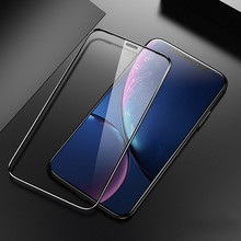 9D white for Glass On Iphone Xr Screen Protector Protective Privacy Tempered