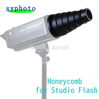 Conical Snoot Honeycomb For Studio Flash Monolight Strobe GY Ect