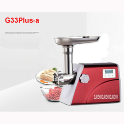 G33Plus-a household stainless steel electric meat grinder meat grill sausage mixed with meat twigs 220V/50Hz,56kg /h Meat speed