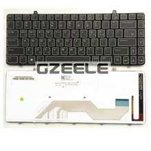 Russian Backlight  New Keyboard  FOR DELL ALIENWARE M11X R2   RU  laptop keyboard