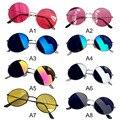 Женские модные ретро круглые пластиковые очки линзы солнцезащитные очки оправа очки женские модные ретро круглые пластиковые очки для вож...