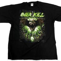 Overkill Bullet Skull Tour Dates 2013 T Shirt BRAND NEW 2X LARGE 2XL Men S T