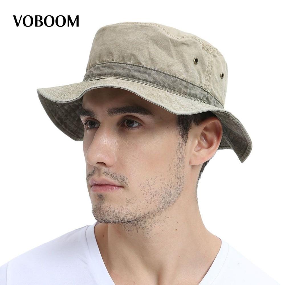 VOBOOM Balde Verão Chapéus Chapéu Panamá chapéu de Sol Das Mulheres Dos  Homens de Pesca protecção Cap Feminino Masculino Caminhadas Sombrero Aba  Larga Caps ... ae9f8c949b5