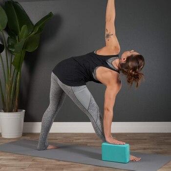 Gym Fitness EVA Yoga Block Colorful Foam Block Brick for Crossfit Exercise Workout Training Bodybuilding