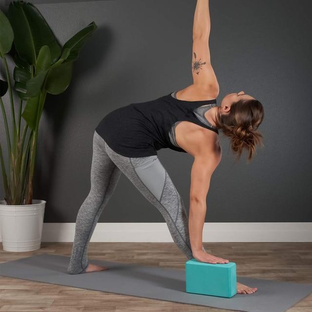 Gym Fitness EVA Yoga Block Colorful Foam Block Brick for Crossfit Exercise Workout Training Bodybuilding Equipment