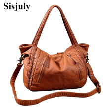 Sisjuly 2018 Leather Bag Women Handbags Soft Female Bag Crossbody For Women's Shoulder Bags Ladies Casual Tote Hobo Sac A Maine