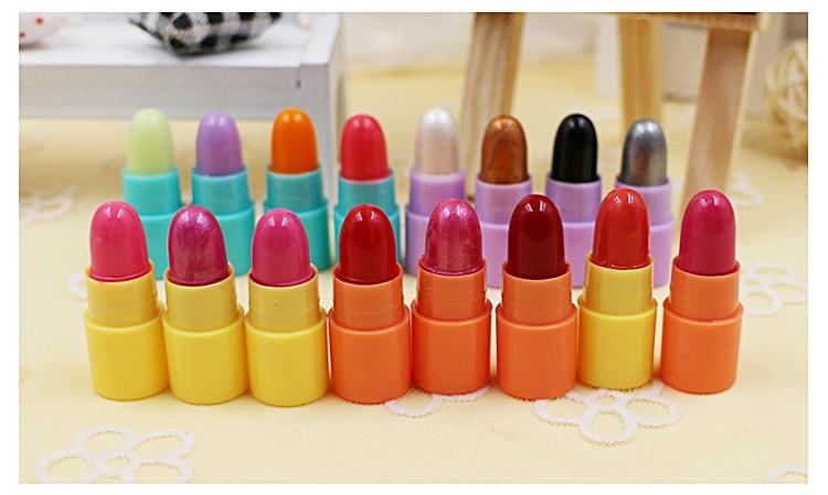 16pcs Mini Sample Lipstick 4pcs Eyeshadow Small Gift Box ...