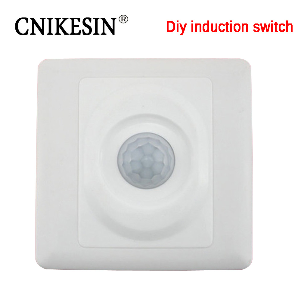 CNIKESIN diy kit Human body induction switch electronic production suite automatic switch parts Training diy electronic suite