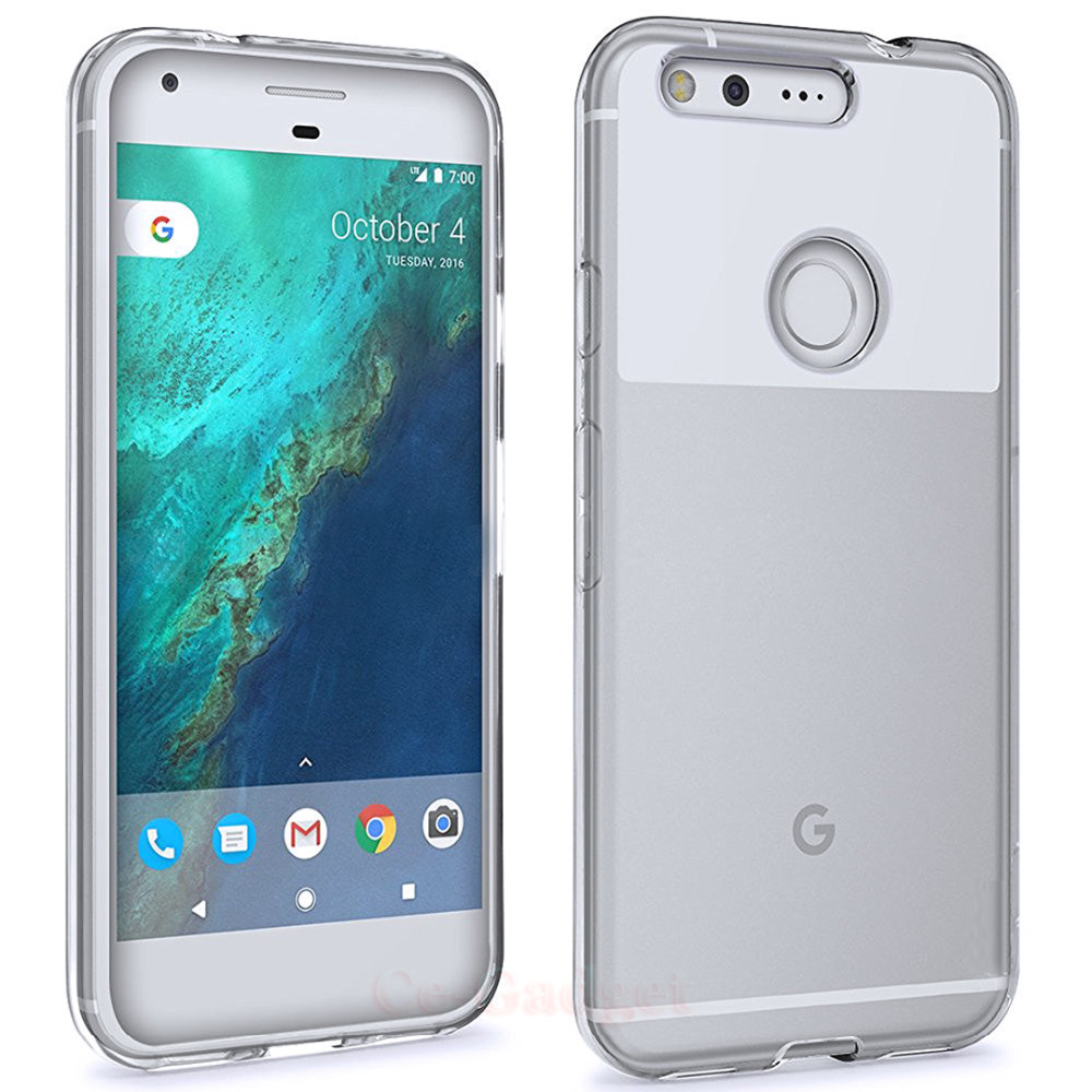 pretty nice 0c109 2c60b US $1.99 |Transparent Clear Soft TPU Case for Google Pixel 2 / Pixel XL /  Pixel 2 XL Phone Back Cover Capa Silicone Skin Fundas -in Fitted Cases from  ...