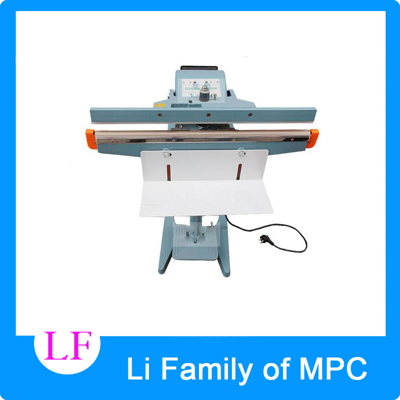 Foot Pedal Impulse Sealer ,heat sealing machine,Plastic Bag sealer 450mm 17 inch PEDAL SEALER pfs 200 impulse quick rapid plastic pvc bag sealing machine sealer for food medical packaging packing manufacturing industry