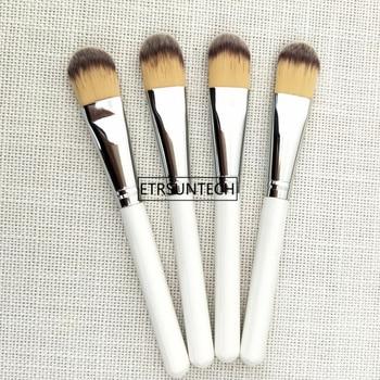 100pcs Women Foundation Makeup Brush Wooden Handle Multi-Function Mask Brushes Foundation Brush Facial Makeup Tools F3144
