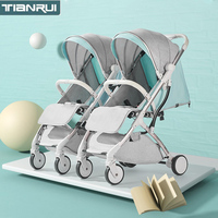 Stroller for twins baby stroller folding portable trolley umberlla mini lightweight stroller on the plane Connector