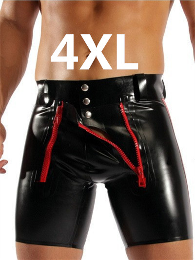 Sexy Plus Size Pu Lingerie Stretch Leggings Pants Sexy -8769