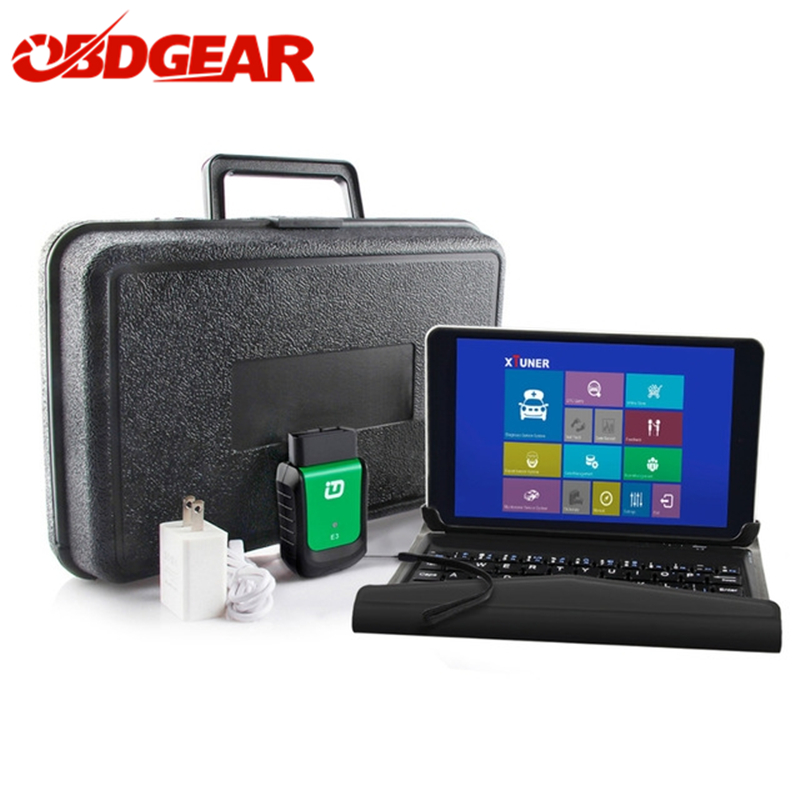 XTUNER E3 Car Diagnostic Tool OBD2 V9.5 8 Win10 Tablet Wifi Scanner Full System Automotive Scanner Better than Vpecker Easydiag