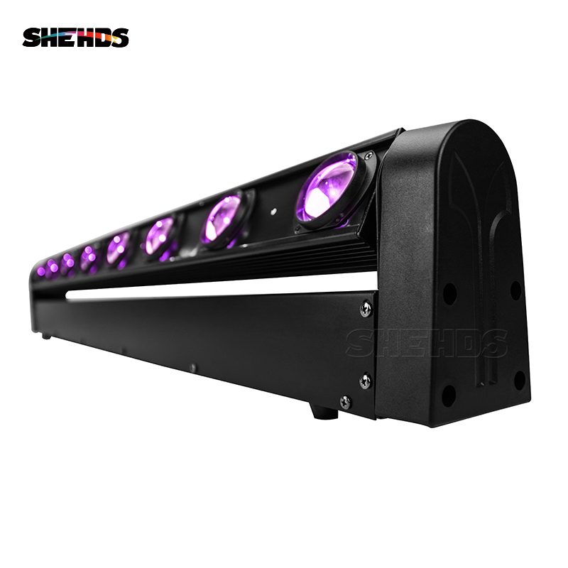 2pcs LED Beam 8x12W RGBW Lighting Stage Lighting Business Lights High Power With Professional For Party KTV Disco DJ SHEHDS
