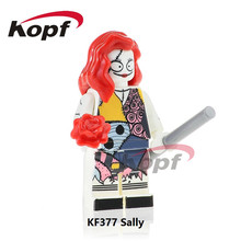 KF377 The Horror Theme Movie Sally Nannibal Zombie Mask Jason Exorcist Building Blocks Action Bricks