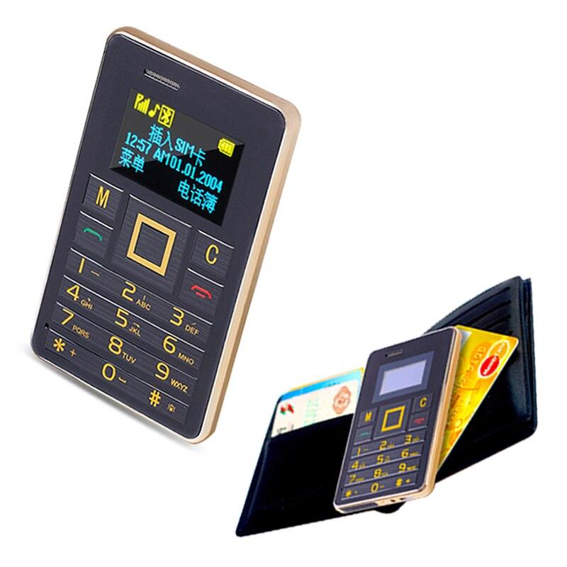 AEKU K5 Swedish Arabic Mini Cute phone Vibration Bluetooth music MP3 FM radio Small Ultrathin card