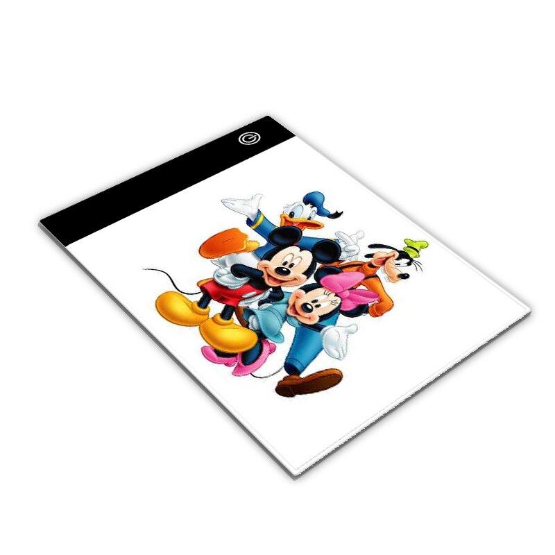 1 Satz A5 Led Tracing Licht Box Pad Helle Tablet Tragbare Dünne Usb Power Board Für 5d Diamant Malerei Zeichnung Weich Und Leicht