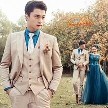Blazer men formal dress latest coat pant designs suit men costume homme marriage wedding suits for men's jacket + pant + vest