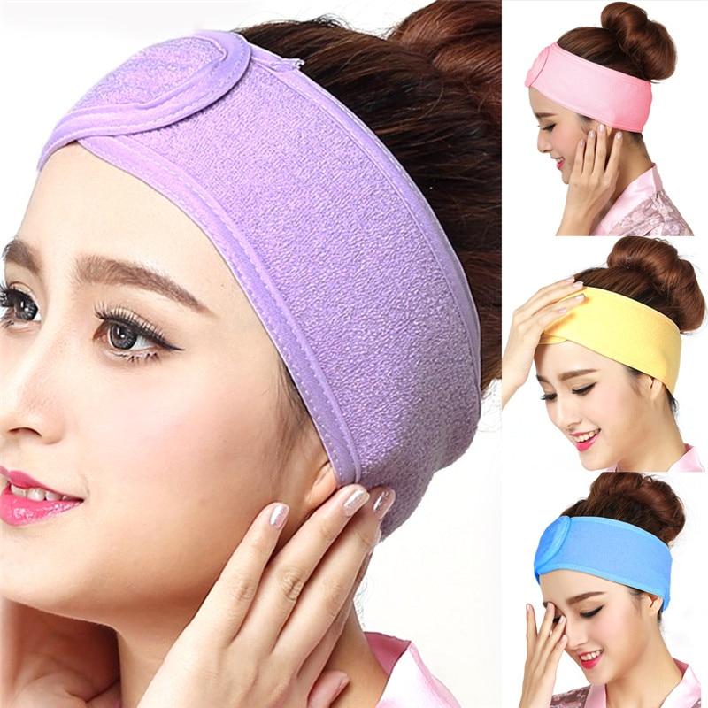 Hot Sale Magic Patch Woman Salon Yoga Face And Hair Towel Headband Beauty Wide-brimmed Headband