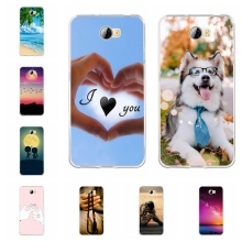 For Huawei Y5 II 2 Cover Slim Soft TPU Silicone Honor 5 Case Ocean Patterned Play Shell