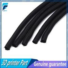 5 adet 3D Yazıcı Parçaları Uzunluğu 30 CM Tekstil Kılıfı kablo tel Sarma Güç Heatbed Bağlı Kablo Prusa I3 MK3