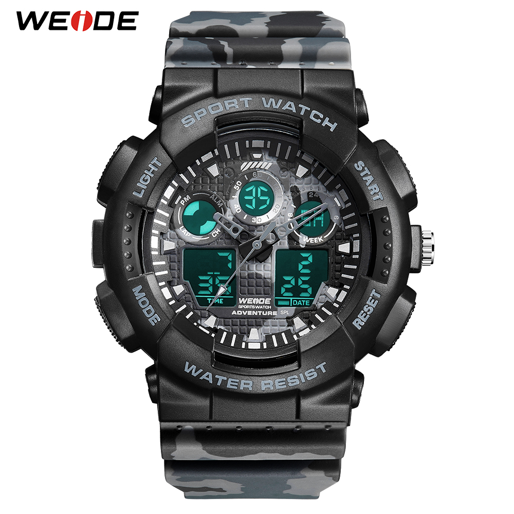 WEIDE Military Mens Watches Sport Digital 50M Waterproof Wristwatch Male Clock Hour Outdoor Relogios Masculino Relojes New 2019WEIDE Military Mens Watches Sport Digital 50M Waterproof Wristwatch Male Clock Hour Outdoor Relogios Masculino Relojes New 2019