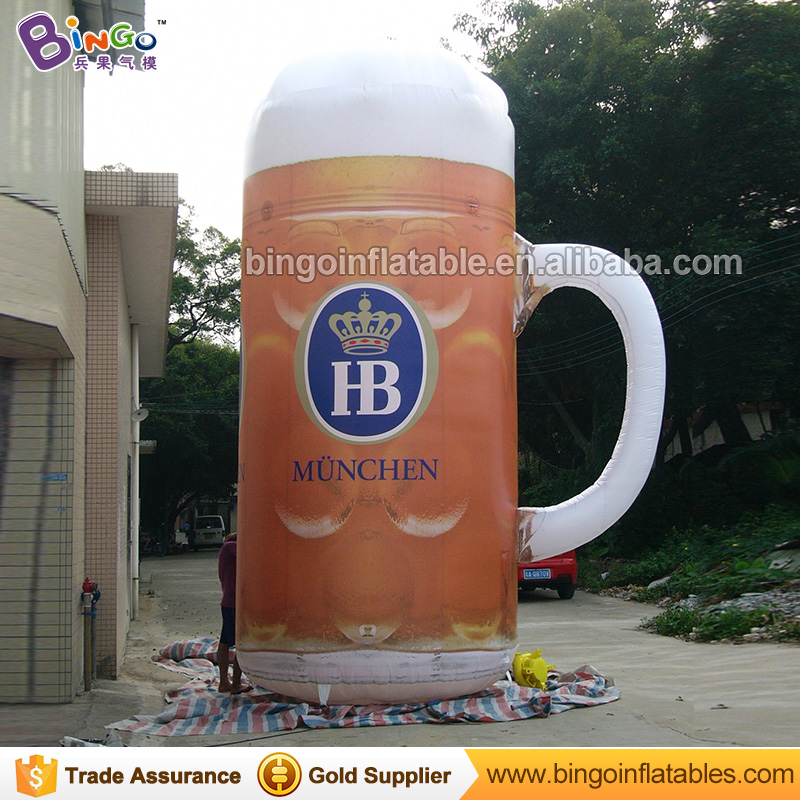 Free shipping 5M high inflatable beer cup model with digital printing customized advertising type cup balloon for promotion toysFree shipping 5M high inflatable beer cup model with digital printing customized advertising type cup balloon for promotion toys