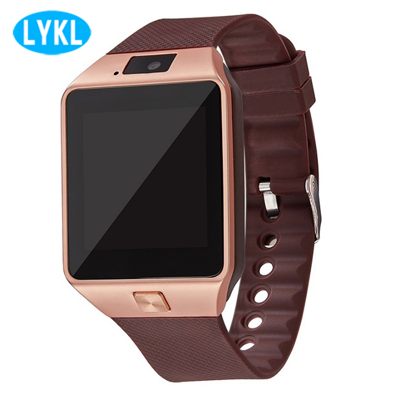 LYKL DZ09 Smart Watch Sync Notifier Support SIM TF Card Smartwatch Support Multi Languages Smart Electronics for Android Phones