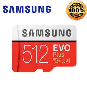 Image 5 - SAMSUNG EVO+ Micro SD 256G SDHC 100mb/s Grade Class10 Memory Card C10 UHS I TF/SD Cards Trans Flash SDXC 64GB 128GB for shipping