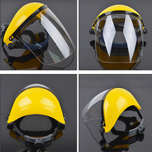 New Protection mask PC transparent anti-shock anti-splash mask light weight and comfortable for kitchen cooking working welding