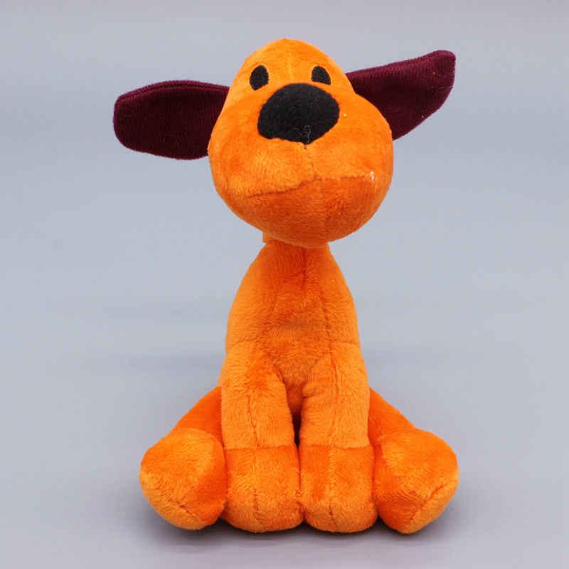 Miúdos Bonitos Brinquedos Macios 15-28 cm Stuffed Animal Plush Toys Brinquedos Pocoyo Elly pato Loula Pocoyo Brinquedo's presente de Aniversário para Crianças